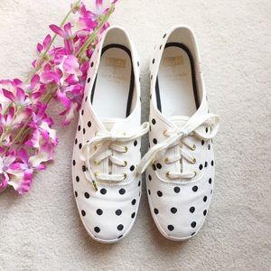 Keds x Kate Spade Champion Polka Dot Sneakers, 9M